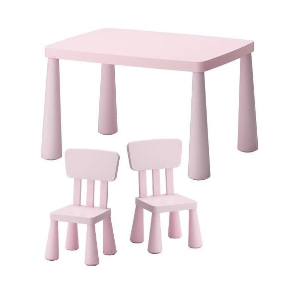 Ikea Sedie E Tavoli Per Bambini.Ikea Mammut Sedie E Tavolo Per Bambini Bambini Per Interni Ed Esterni Rosa