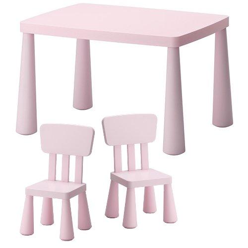 ikea mammut sedie e tavolo per bambini bambini per interni ed esterni rosa 727touo. Black Bedroom Furniture Sets. Home Design Ideas