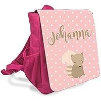 Rucksack für Mädchen in Pink mit Name