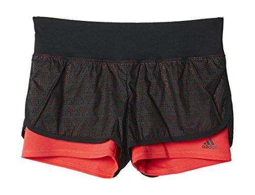 adidas AO4911 Short Femme Noir/Rouge