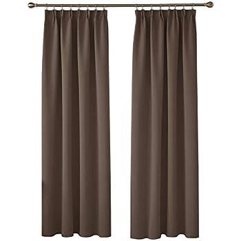 Deconovo Window Treatment Bedroom Curtains Thermal