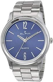 Elfin Analog Blue Dial Men's Watch-ELF