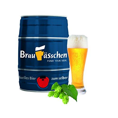 Bierbrauset zum selber Brauen – Weißbier im 5 L Bierfass - in 7 Tagen gebraut (Bier Zu Hause)