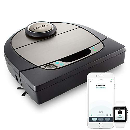 Neato Robotics Botvac D7 Connected - Premium Saugroboter mit Ladestation, Wlan & App - Staubsauger...