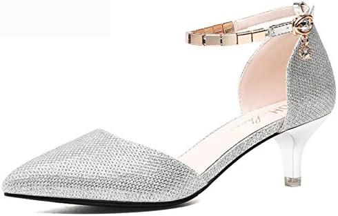 AJUNR Moda/elegante/Transpirable/Sandalias Bien con Baotou zapatos de verano de nuevo bodas de oro de novia zapatos...