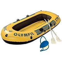 Wehncke 10506 Olympic - 2,5 personas, embarcaciones hinchables con remos y bomba
