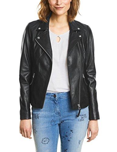 Cecil Damen 210685 Jacke, Black, 38 (Herstellergröße: M)