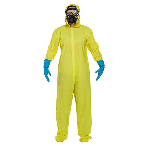 Breaking Erwachsene Für Hazmat Bad Anzug Kostüm - Bad Chemist - Adult Costume Man: M (Chest: 41