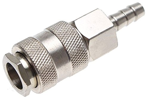 BGS ad aria compressa attacco rapido con attacco tubo, 8mm, 3226-1