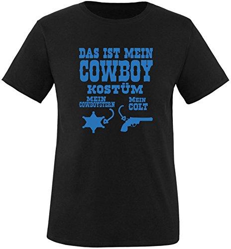 Luckja Das ist mein Cowboy Kostüm Herren Rundhals T-Shirt (Wirklich Kreative Kostüm)