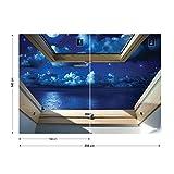 Dreamy Nachthimmel 3D-Dachfenster-Ansicht Vli...Vergleich