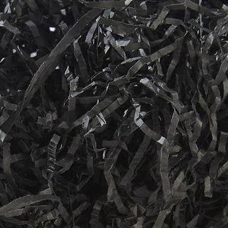 Schwarz Zerrissenes Papier 4kg-Tasche