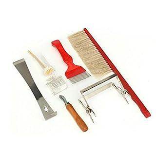 AmgateEu 7-Piece Beekeeping Tool Set