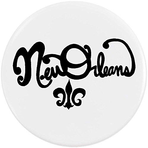 Azeeda 58mm 'New Orleans' Pin Knopf-Abzeichen (BB00034946)