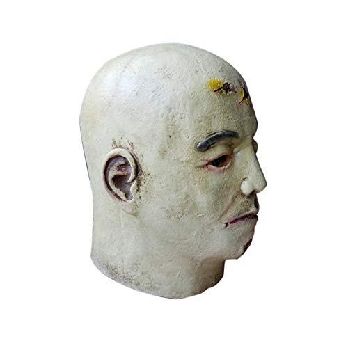 QIMANZI Halloween Cosplay Unheimlich Maske KostümFür Erwachsene Party Dekoration Requisiten Gruselig(G)