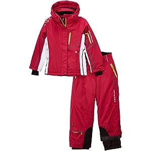 Peak Mountain Gauine/ya - Completo da sci + cintura da neve, da bambina