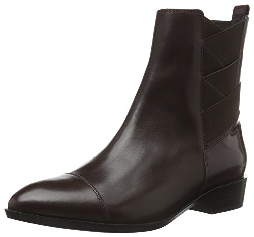 Geox D Lover A, Bottes Chelsea Femme Rot (DK BURGUNDYC7357)