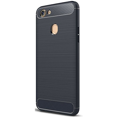 0648a8f62b6439 OPPO F5 Case, Tianqin Ultra Light Slim Shockproof Silicone TPU [Anti Slip]  [Scratch Resistant]Protective Case Cover for OPPO F5 Protective Shell  (Blue) ...