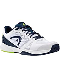 HEAD Lazer 2.0 Whbl, Chaussures de Tennis Homme, Blanc (Blanc/Bleu), 44 EU