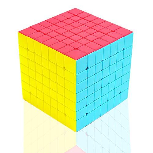 TOYESS Cubo de Velocidad 7x7 Stickerless