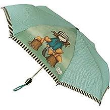Santoro London 76-0010-10 - Paraguas Gorjuss plegable automático, ...