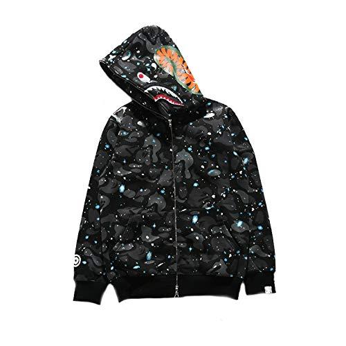 aca82b9c74bb sissiren Herren Leuchtend Himmel Hoodie Kapuzenpullover Unisex  Kapuzen-Sweatshirt mit Samt
