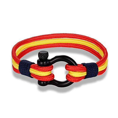 Modeschmuck Aus Spanien - Zuiaidess Geflochtenes Armband,Jahrgang Hand-Woven Hand Seil