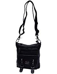Ruff Black Stylish Men's Women's Sling Bag Casual Sling Bag Fashionable Sling Bag College Sling Bag