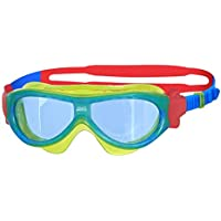 Zoggs Children's Phantom Kids Mask with UV Protection and Anti-Fog Swimming Goggles (Up to 6 Years)