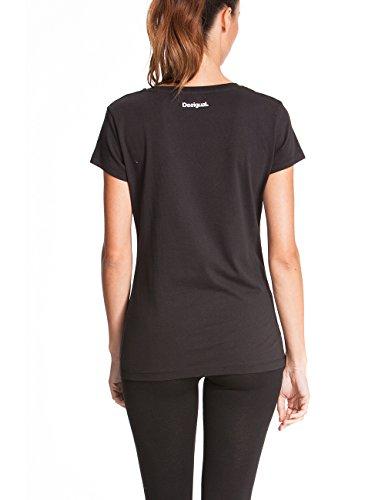 Desigual t-shirt pour femme nicamo M Noir - Noir