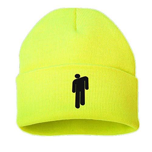 Preisvergleich Produktbild Neborn Baumwolle Casual Mützen für Männer Frauen Gestrickte Winter Hut Solide Hip-Hop Skullies Motorhaube Unisex Kappe (Grün)