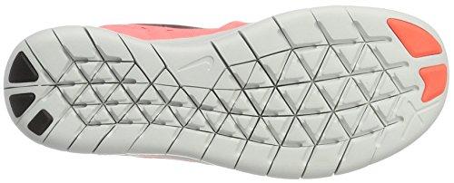 Nike Free Rn (Gs), Scarpe Sportive Indoor Bambina Arancione (Lv Glw/mtllc Slvr-blck-still Bl)