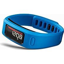 Garmin Vivofit HRM - Pulsera de fitness con pulsómetro, color azul