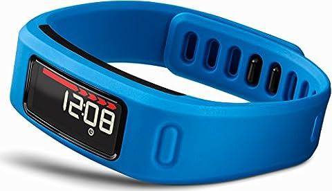 Garmin Vivofit - Bracelet d'activité connecté avec écran - jusqu'à 1 an d'autonomie - Bleu