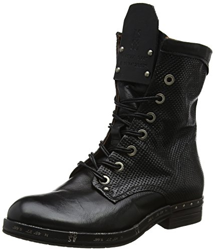 A.S.98 Damen Ball Combat Boots, Schwarz (Nero 101 6002), 38 EU