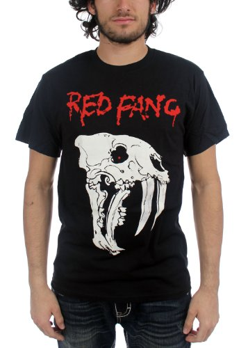 Red Fang Fang Skull T-Shirt
