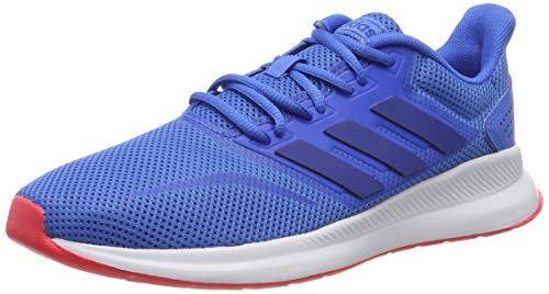 adidas Falcon, Scarpe da Running Uomo, Blu True Blue/Collegiate Royal/Shock Red, 44 EU