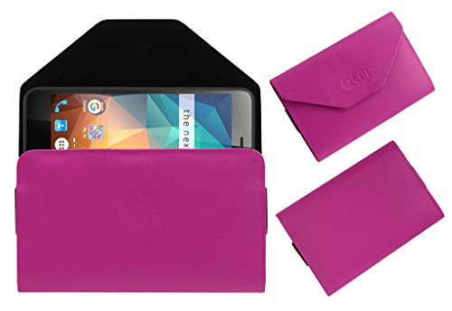 Acm Premium Flip Flap Pouch Case for Xolo Era 2x 2gb Mobile Leather Cover Pink  available at amazon for Rs.179