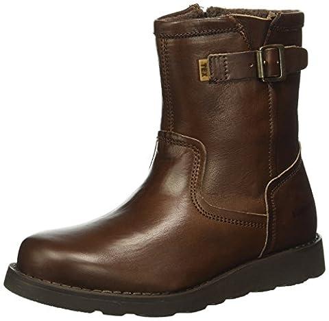 Bisgaard TEX boot 61034216, Unisex-Kinder Schneestiefel, Braun (303 Brown) 39