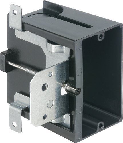 Arlington Industries FA101 1-Gang Adjustable Outlet Mount Box, 25-Pack by Arlington Industries