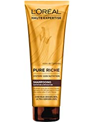 L'Oréal Paris Pure Riche Shampoing  Nutrition & Réparation 250 ML