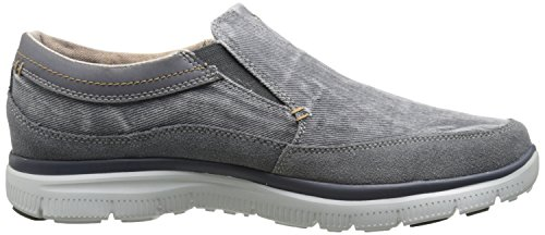 Skechers Hinton-Olmos, Chaussures de Tennis Homme Anthracite