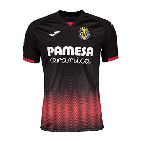 Joma Camiseta Villarreal CF Tercera Equipación 2018-2019 Negro Talla S