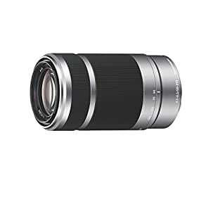Sony SEL55210 E Mount - APS-C 55-210mm F4.5-6.3 Telephoto Zoom Lens (Silver)