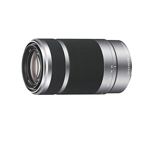 Sony SEL55210, Tele-Zoom-Objektiv (55-210 mm, F4,5–6,3 OSS, E-Mount APS-C, geeignet für A5000/ A5100/ A6000 Serien& Nex) silber