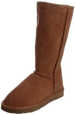 Ukala Women's Sydney High Boots Chestnut 3 UK
