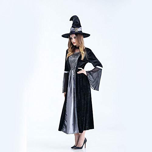 Halloween Cosplay Kostüm Tunika Kapuzen Robe Kapuzenmantel Cape Medieval Kapuzen-Party-Ausrüstung Erwachsene ()