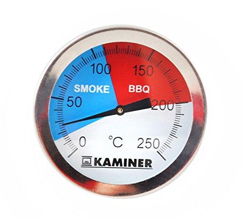 Grill Thermometer Edelstahl Smoker BBQ Räucherofen Gasgrill 250°C #1881