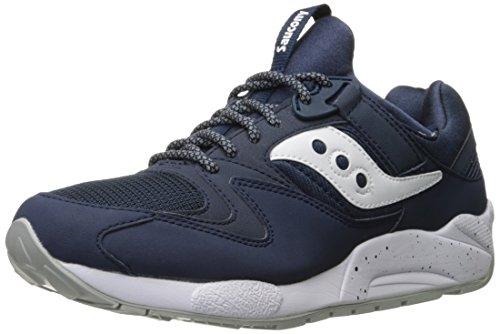 Saucony Grid 9000, Sneaker a Collo Basso Uomo Blue (Navy/White)