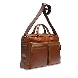 Picard Buddy Businessbag A4 Herren Leder - 41x29x10cm (Cognac)
